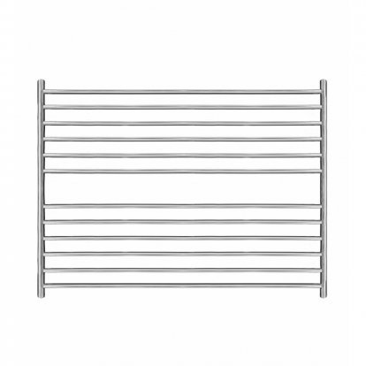 Augustus Stainless Steel Heated Towel Rail 800mm x 1000mm