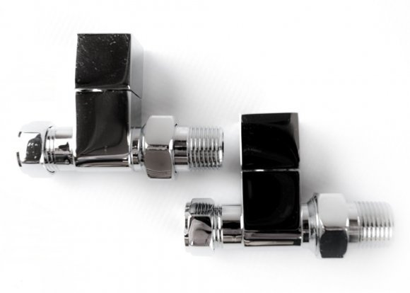 Straight Chrome Square Valves