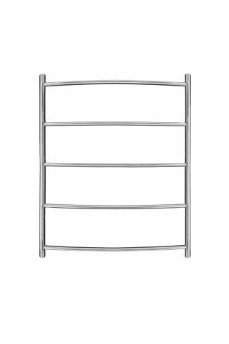Inflecto Stainless Steel Heated Towel Rail 600mm x 500mm