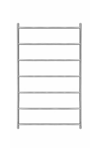 Ergo Stainless Steel Heated Towel Rail 800mm x 500mm
