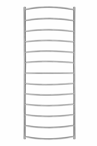 Inflecto Stainless Steel Heated Towel Rail 1550mm x 600mm