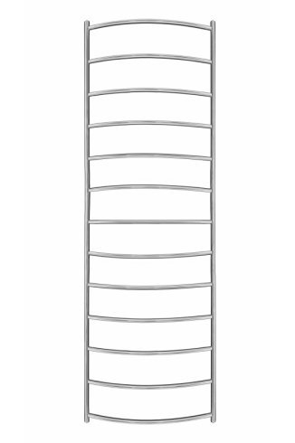 Inflecto Stainless Steel Heated Towel Rail 1550mm x 500mm