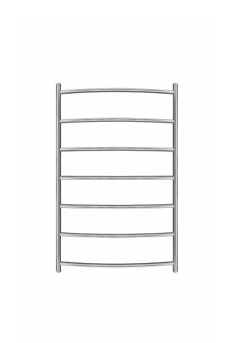 Inflecto Stainless Steel Heated Towel Rail 800mm x 500mm