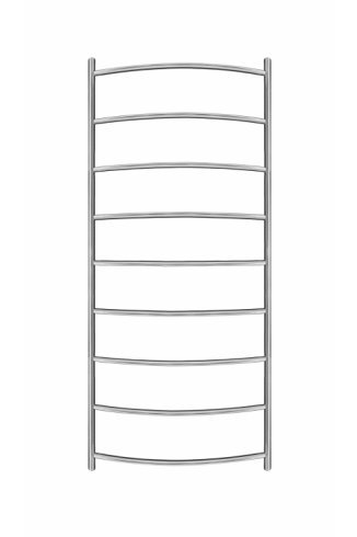 Inflecto Stainless Steel Heated Towel Rail 1150mm x 500mm