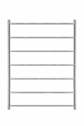 Ergo Stainless Steel Heated Towel Rail 800mm x 800mm