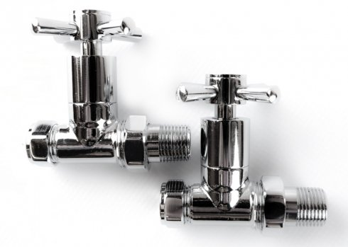 Straight Chrome Cross Head Valves