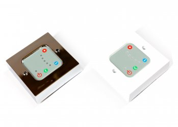 Digital Wall Plate Controller / White or Chrome