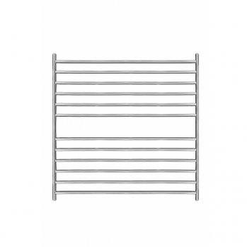 Magnus Stainless Steel Heated Towel Rail 800mm x 800mm