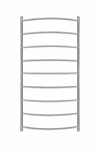 Inflecto Stainless Steel Heated Towel Rail 1150mm x 600mm