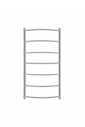 Inflecto Stainless Steel Heated Towel Rail 800mm x 400mm