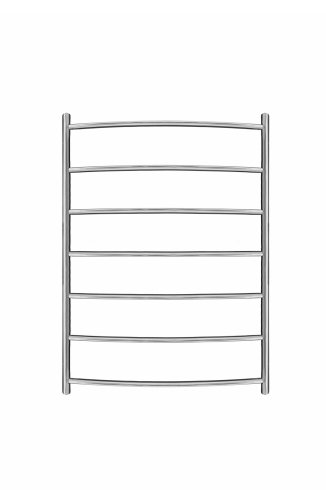Inflecto Stainless Steel Heated Towel Rail 800mm x 600mm