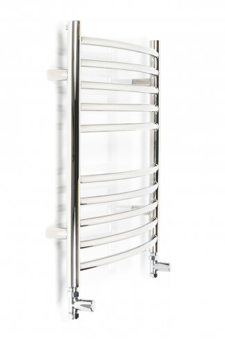 Inflecto_curved towel rails_600mm_x_600mm_Rhinorails