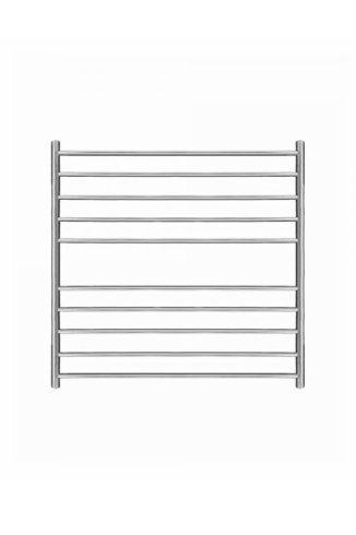 Magnus Stainless Steel Heated Towel Rail 600mm x 600mm