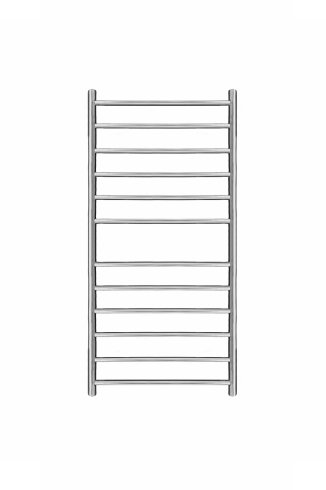 Magnus Stainless Steel Heated Towel Rail 800mm x 400mm